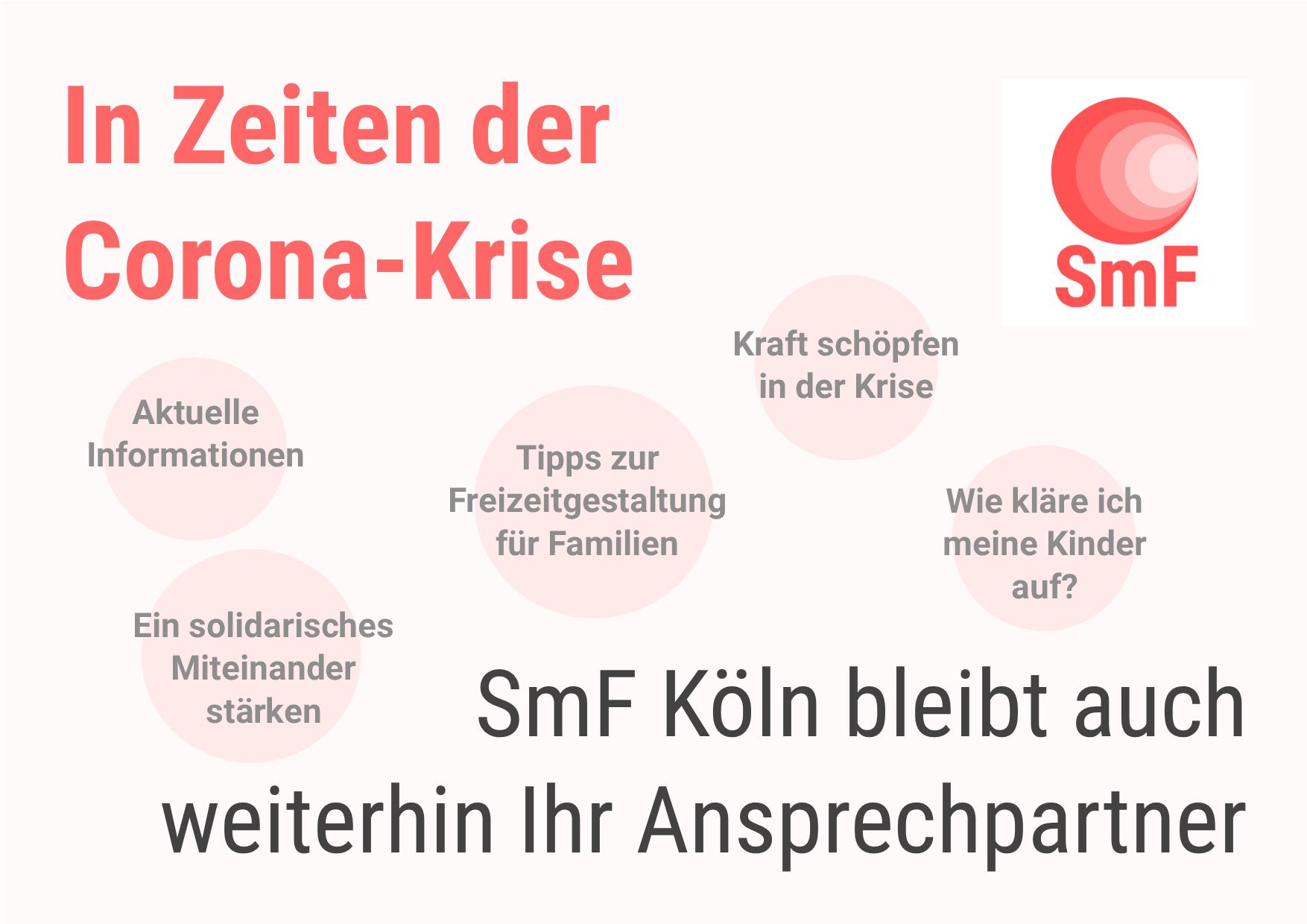 SmF Köln zur Corona-Krise