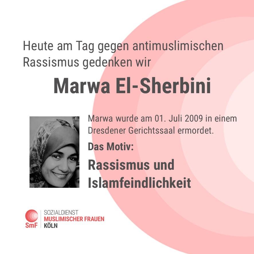 Tag gegen antimuslimischen Rassismus: Marwa El-Sherbini
