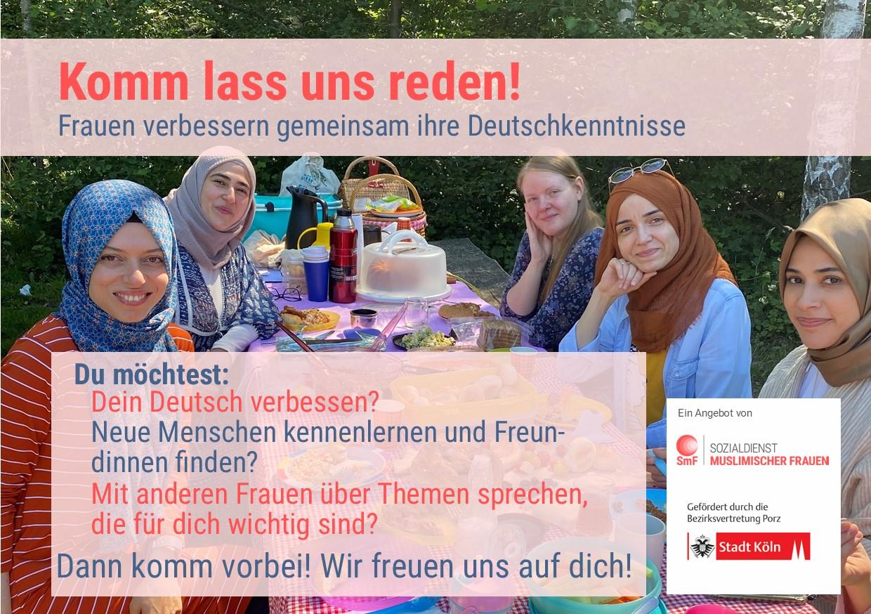 Komm, lass uns reden! – Konversationsgruppen für Frauen