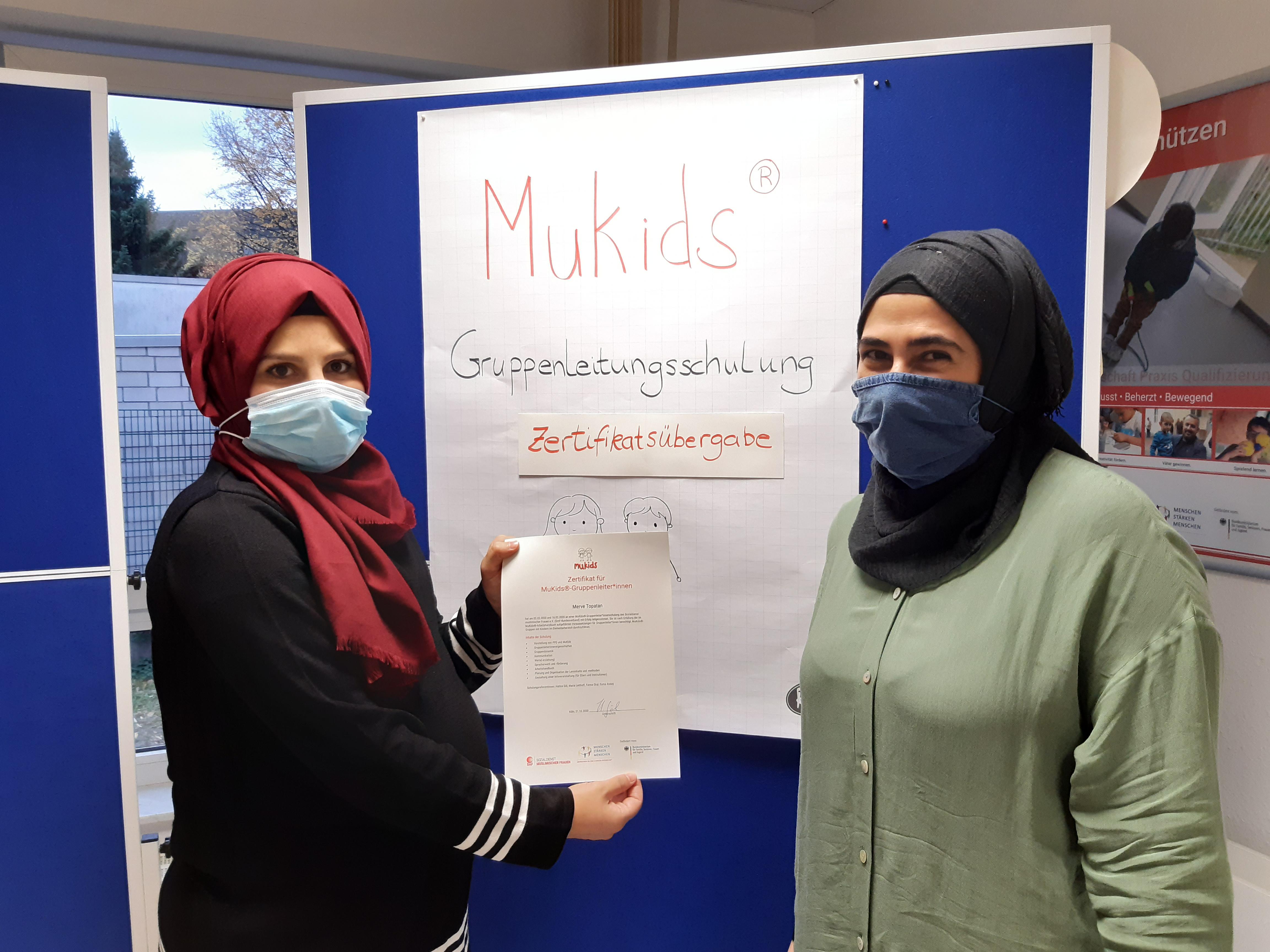 SmF Köln zertifiziert MuKids-Gruppenleiterinnen