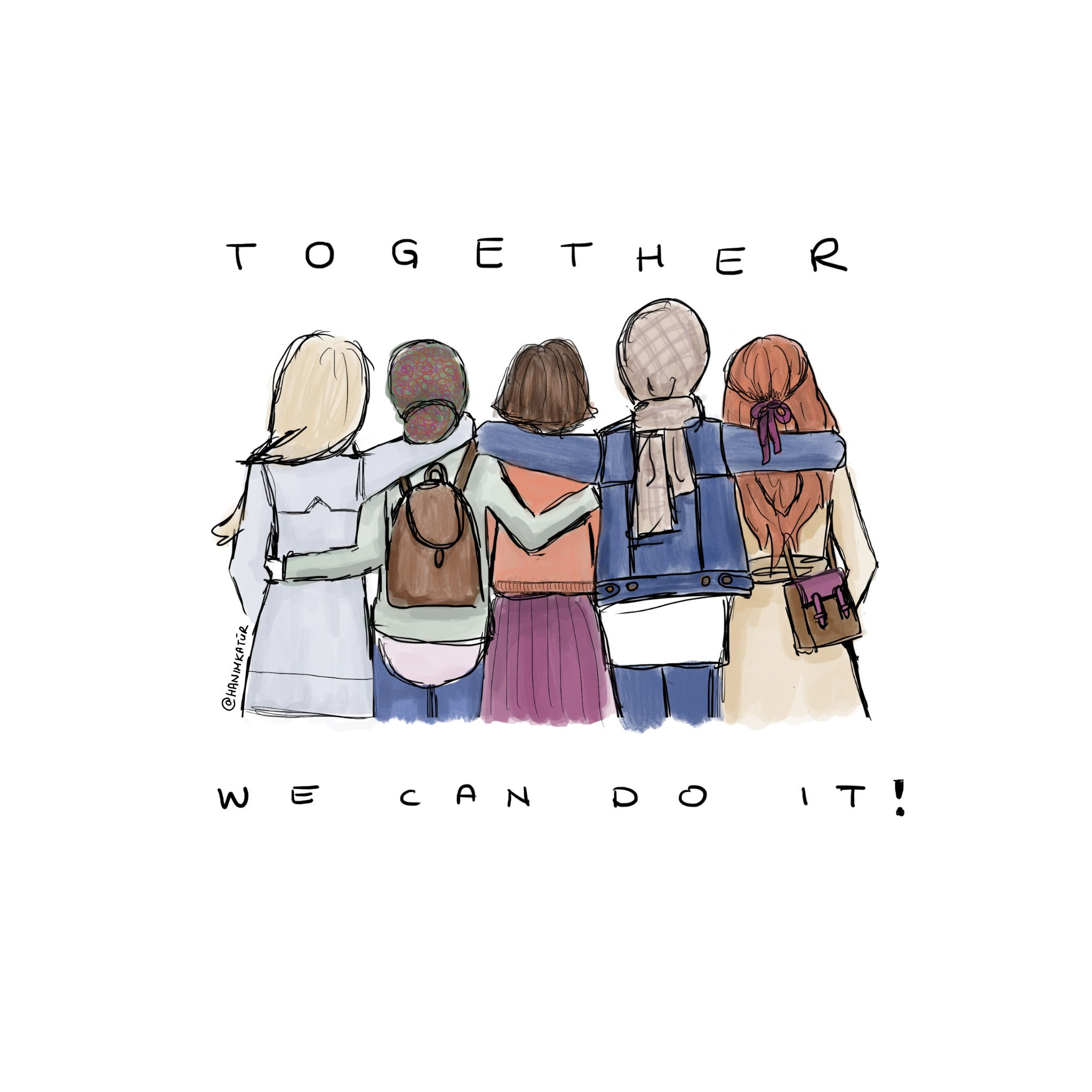 TOGETHER We Can Do It!
