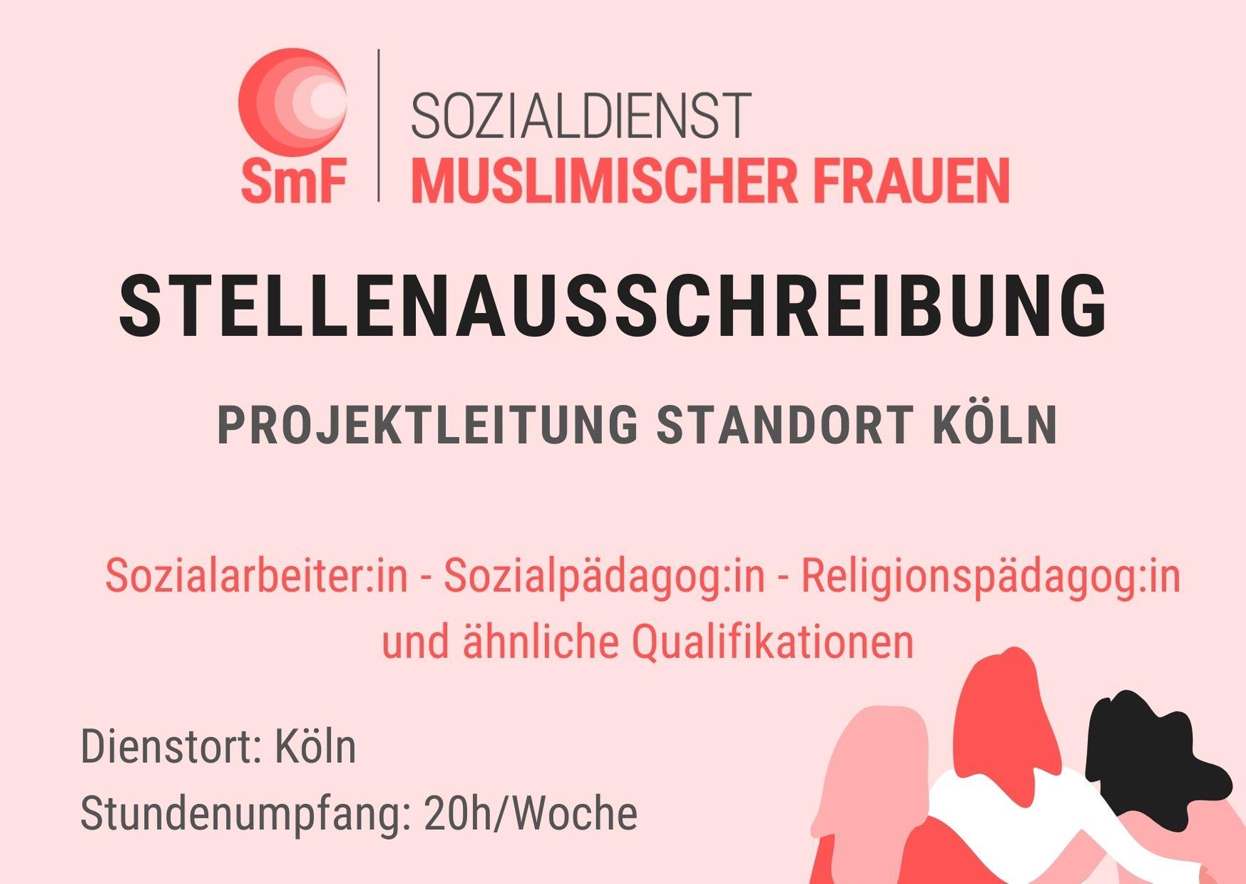 Stellenausschreibung: Projektleitung Standort Köln